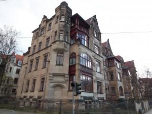 Vorderansicht Gebäude